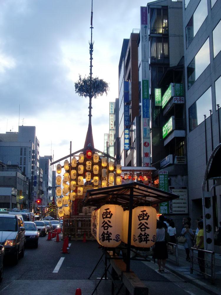 祇園祭鉾建