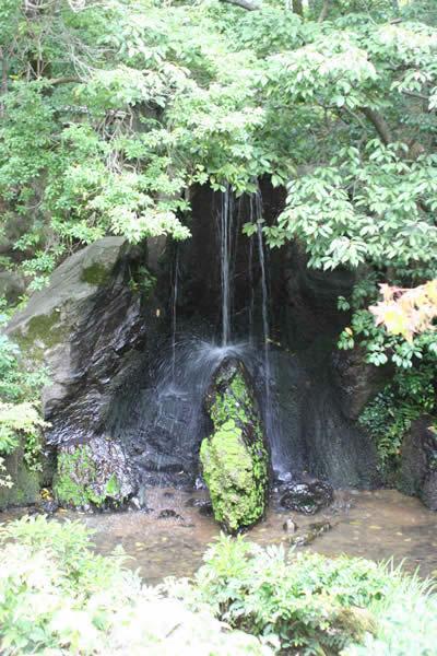 龍門の瀧と鯉魚の石