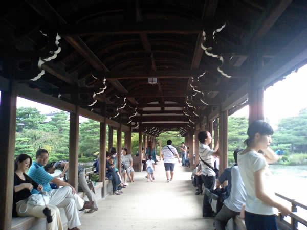 平安神宮の庭園