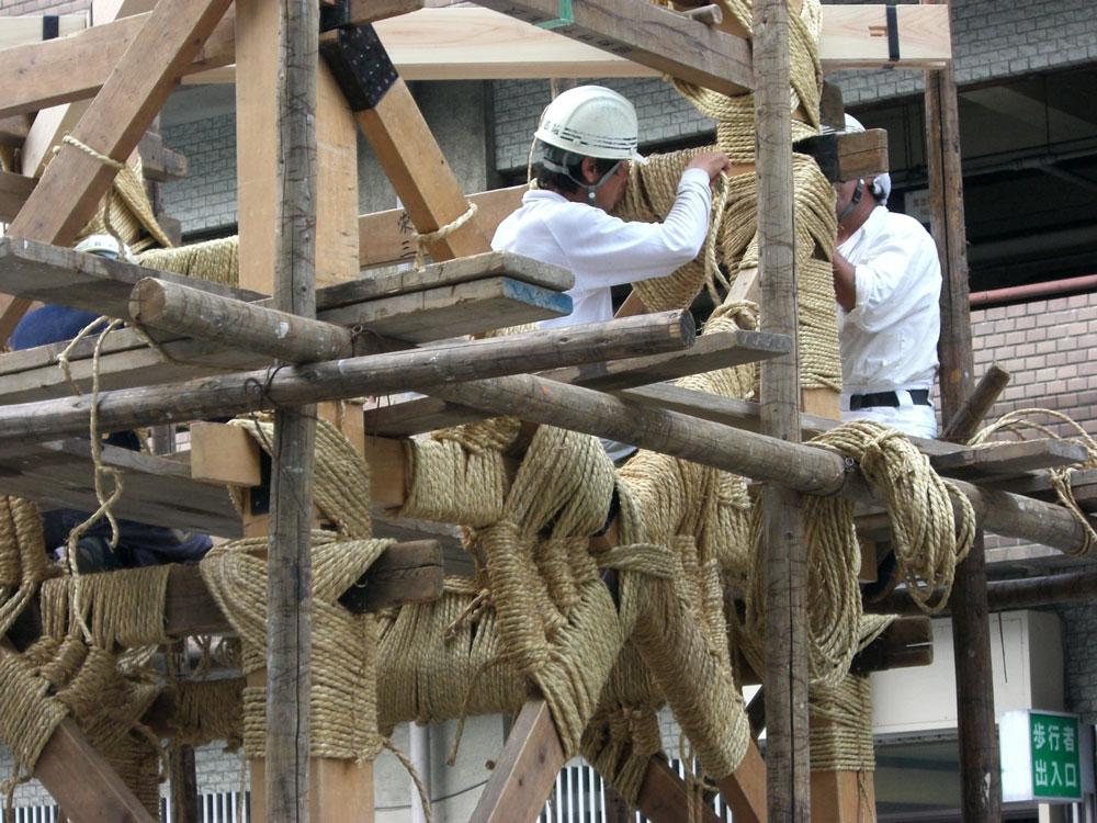 祇園祭鉾建・鶏鉾